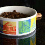 Capital Landmarks Art Dog Bowls