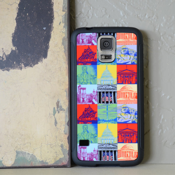 Capital Landmarks Art Phone Case