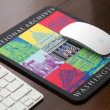 Capital Landmarks Art Mousepad