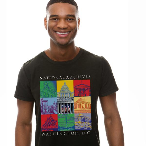 Capital Landmarks Art T-Shirt