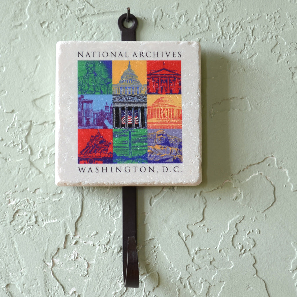 Capital Landmarks Art Utility Hook