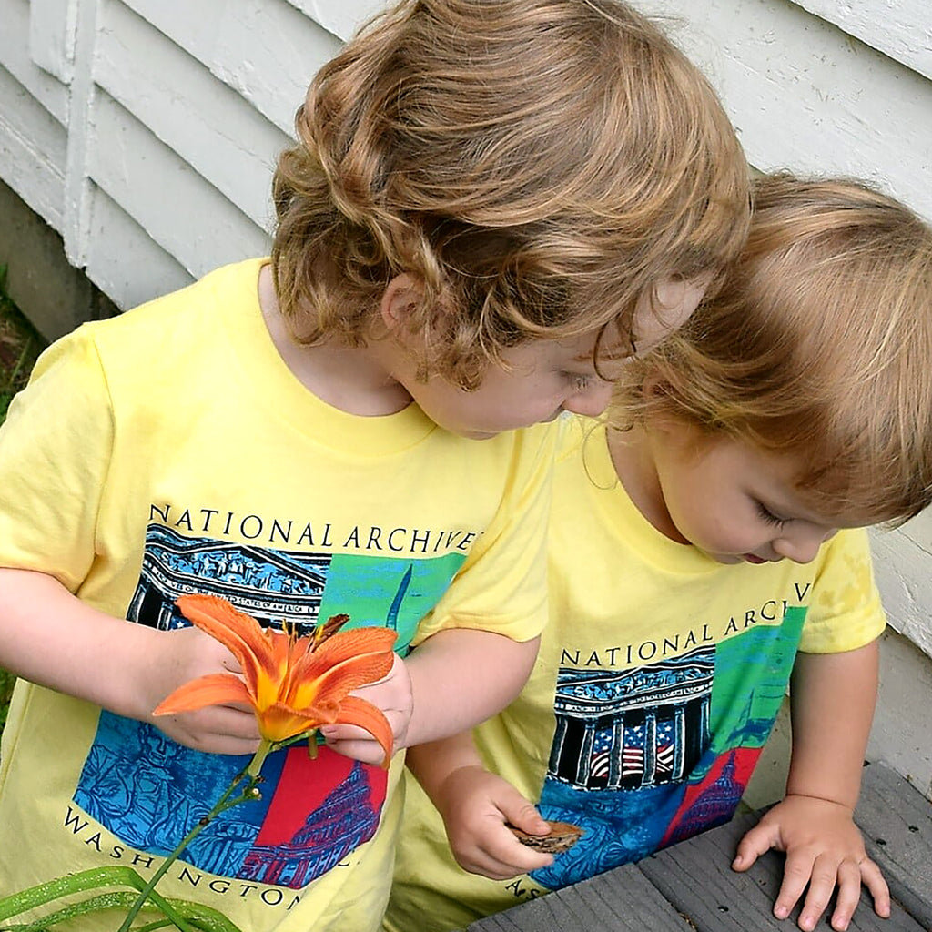 Capital Landmarks Art T-Shirt Toddler Sizes