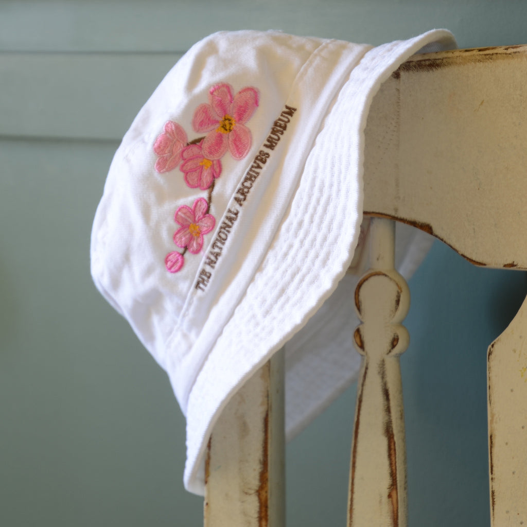 Cherry Blossom Youth Bucket Hat