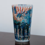 The Avenue in the Rain Pint Glass