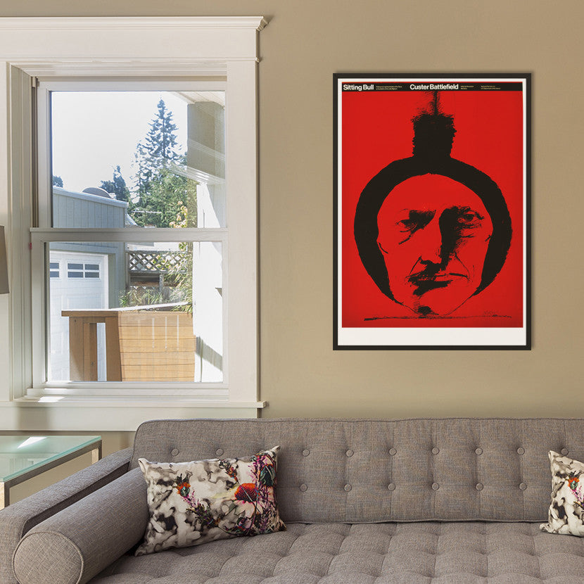 Sitting Bull, Custer Battlefield Poster