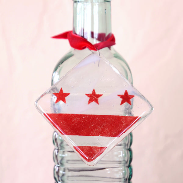 DC Flag Ornament