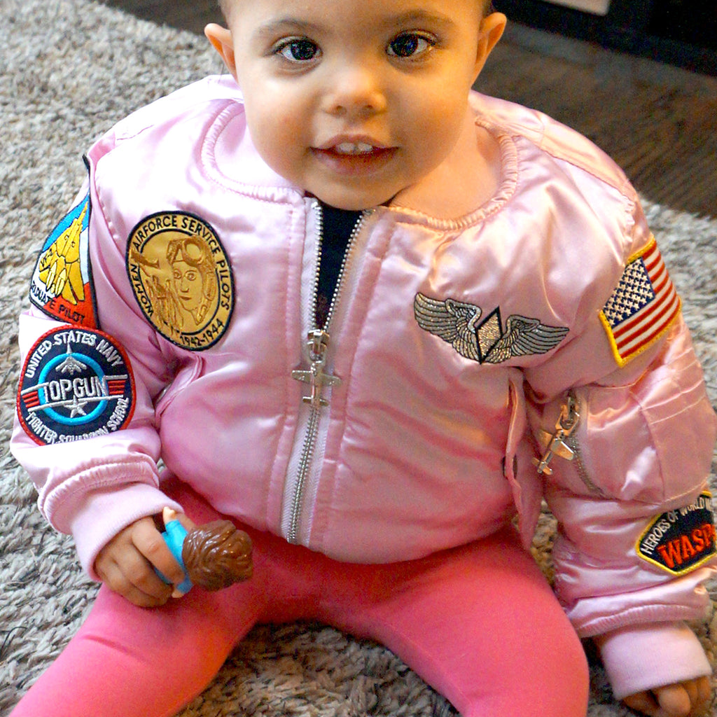MA-A Flight Jacket Girl