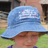 Periwinkle Youth Bucket Hat