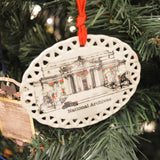 Archives Building Holiday Ornament