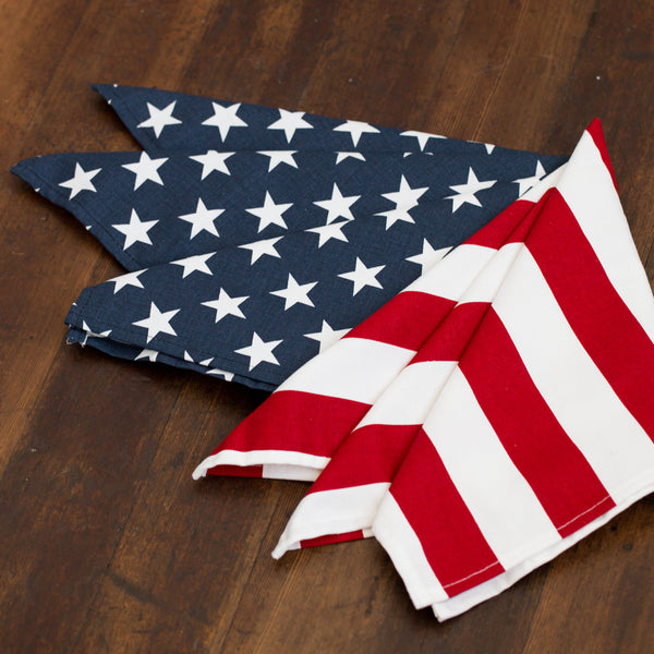 Stars & Stripes Cloth Napkins