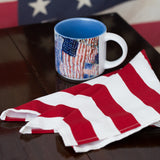 Stars and Stripes Big Buffet Square Napkins