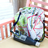 Folding DC Metro Map Backpack