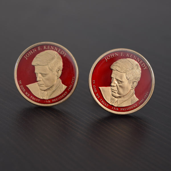 John F. Kennedy Cuff Links