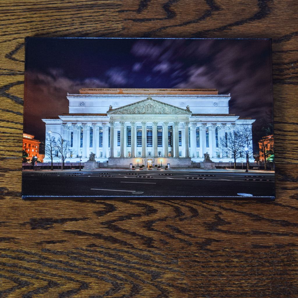 National Archives Building Canvas Print