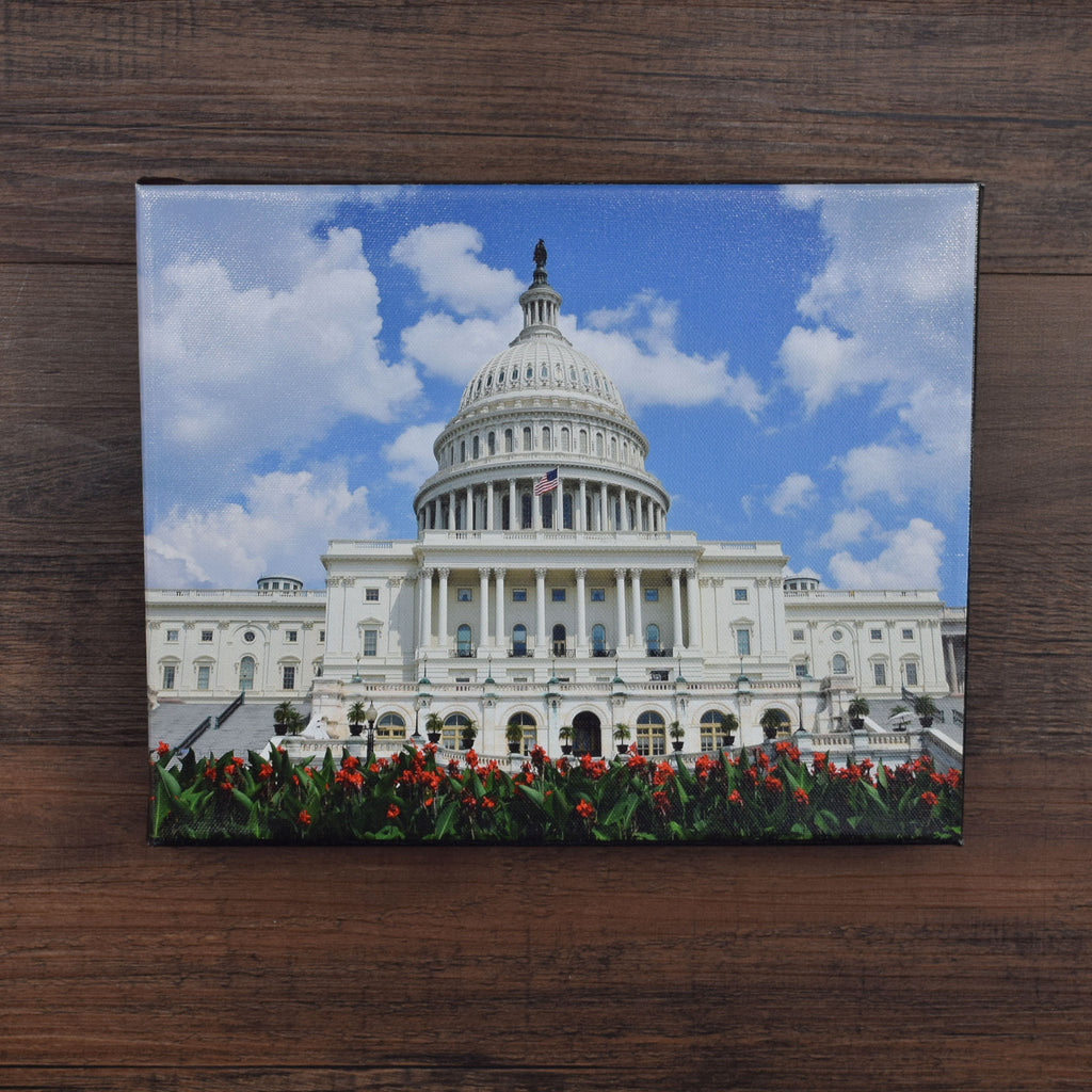 U.S. Capitol Building Canvas Print