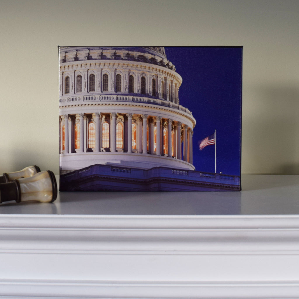 U.S. Capitol Dome Canvas Print