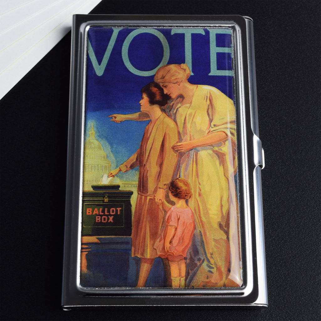 Ballot Box Card Case