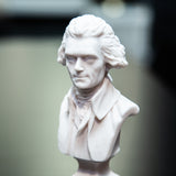 Thomas Jefferson 6-inch White Bust