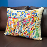 America Rectangular Down Pillow