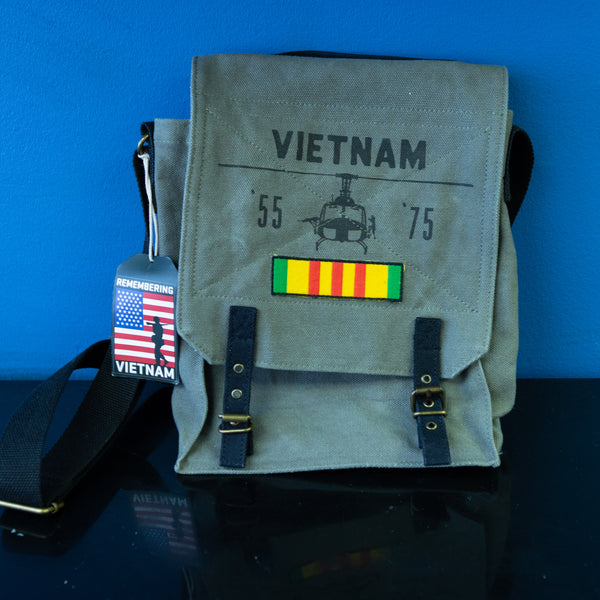 Vietnam Helicopter Field Bag