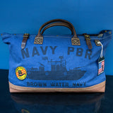 Navy PBR Vietnam Overnighter Bag