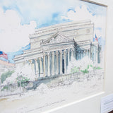 National Archives Matted Print: Large
