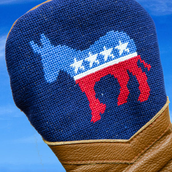 Democrat Navy Golf Headcover