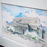 National Archives Matted Print: Medium