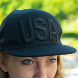 USA Flat Bill Baseball Cap