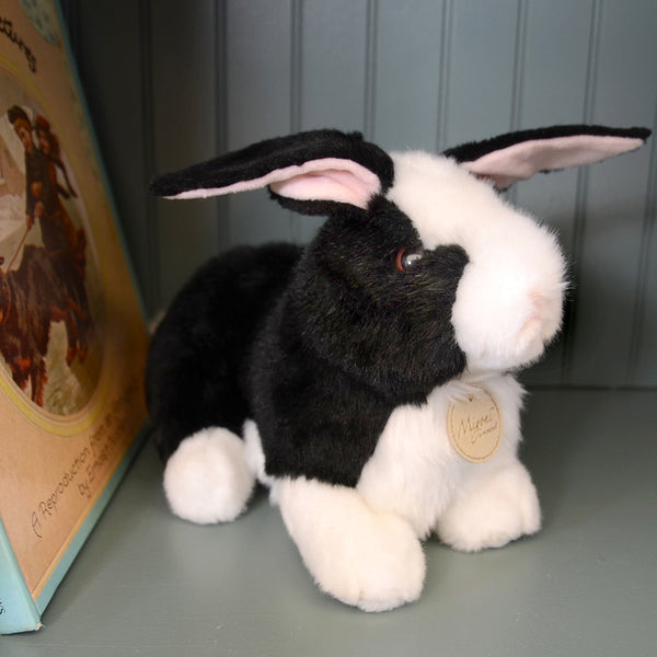 Rabbit Black Plush