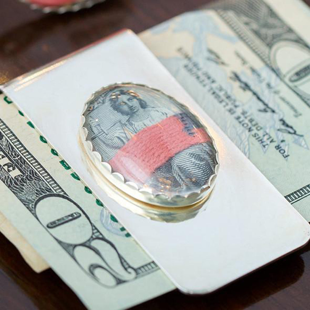Red Tape Money Clip