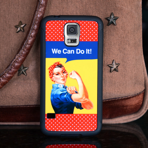 Rosie We Can Do It Galaxy S5 Phone Case
