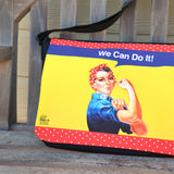 Rosie We Can Do It Messenger Bag