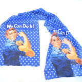 Rosie We Can Do It Scarf