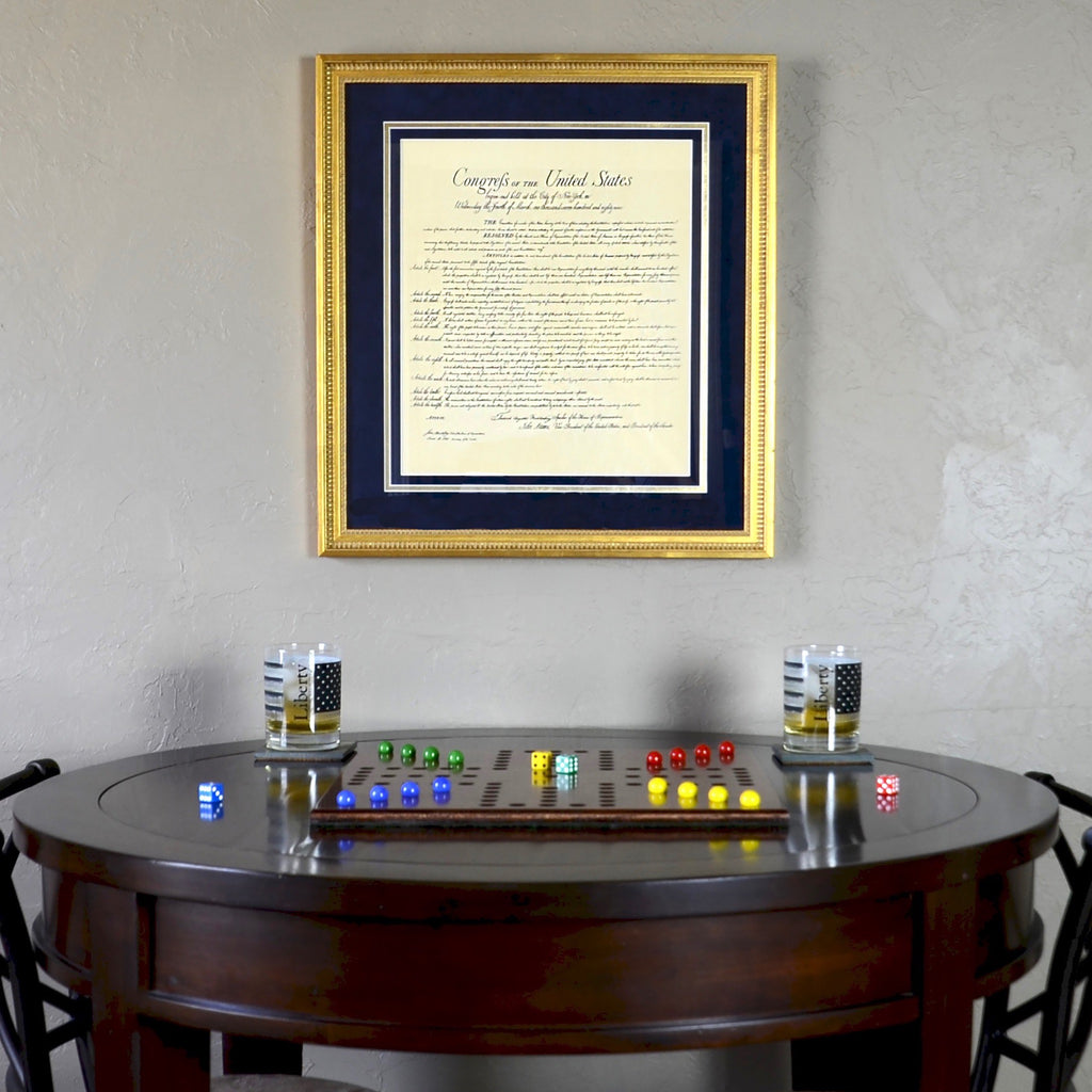 Bill of Rights Custom Framed Document