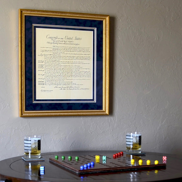 Premium Framed Bill of Rights
