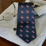 Old Glory Club Silk Tie