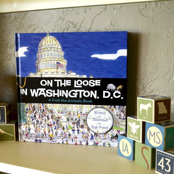 On the Loose in Washington, D.C., Book