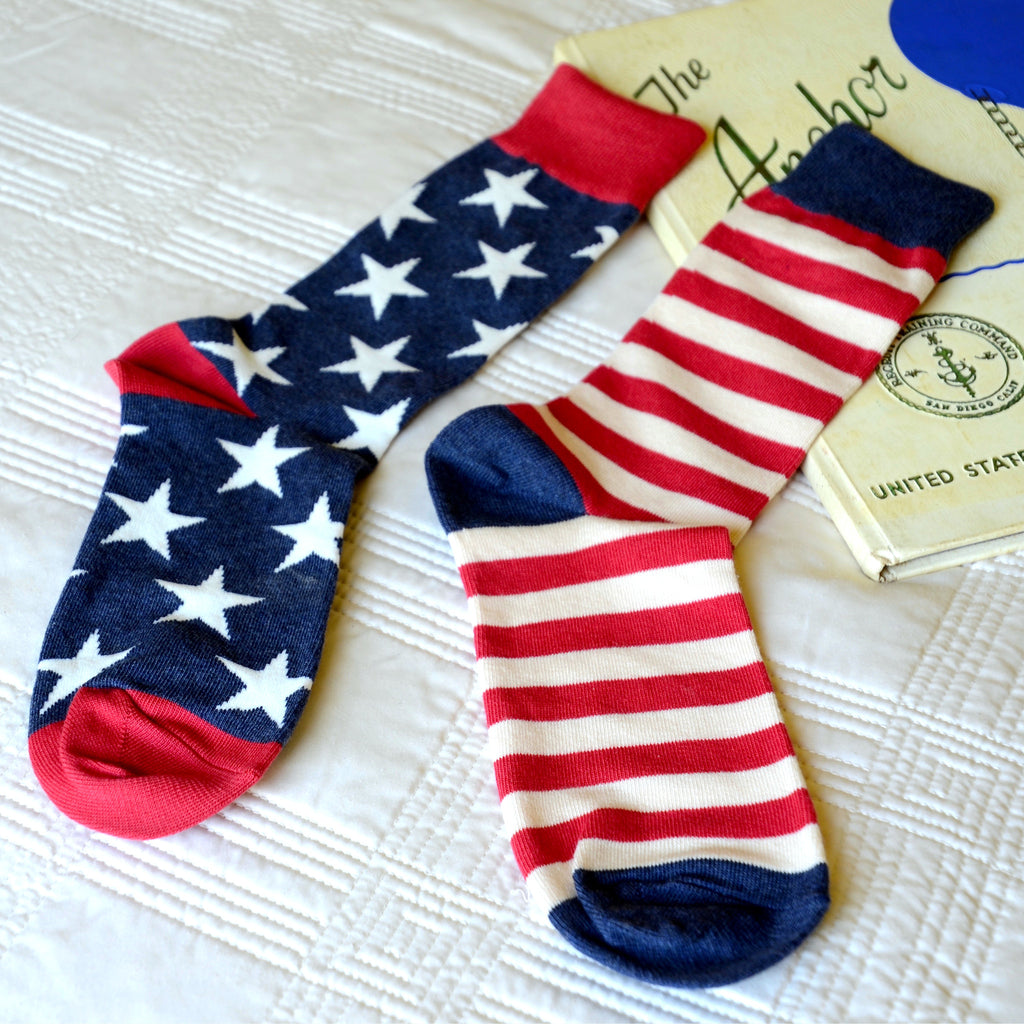 Flag Mens Crew Socks