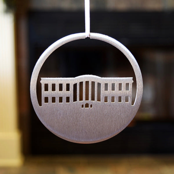 White House Steel Ornament