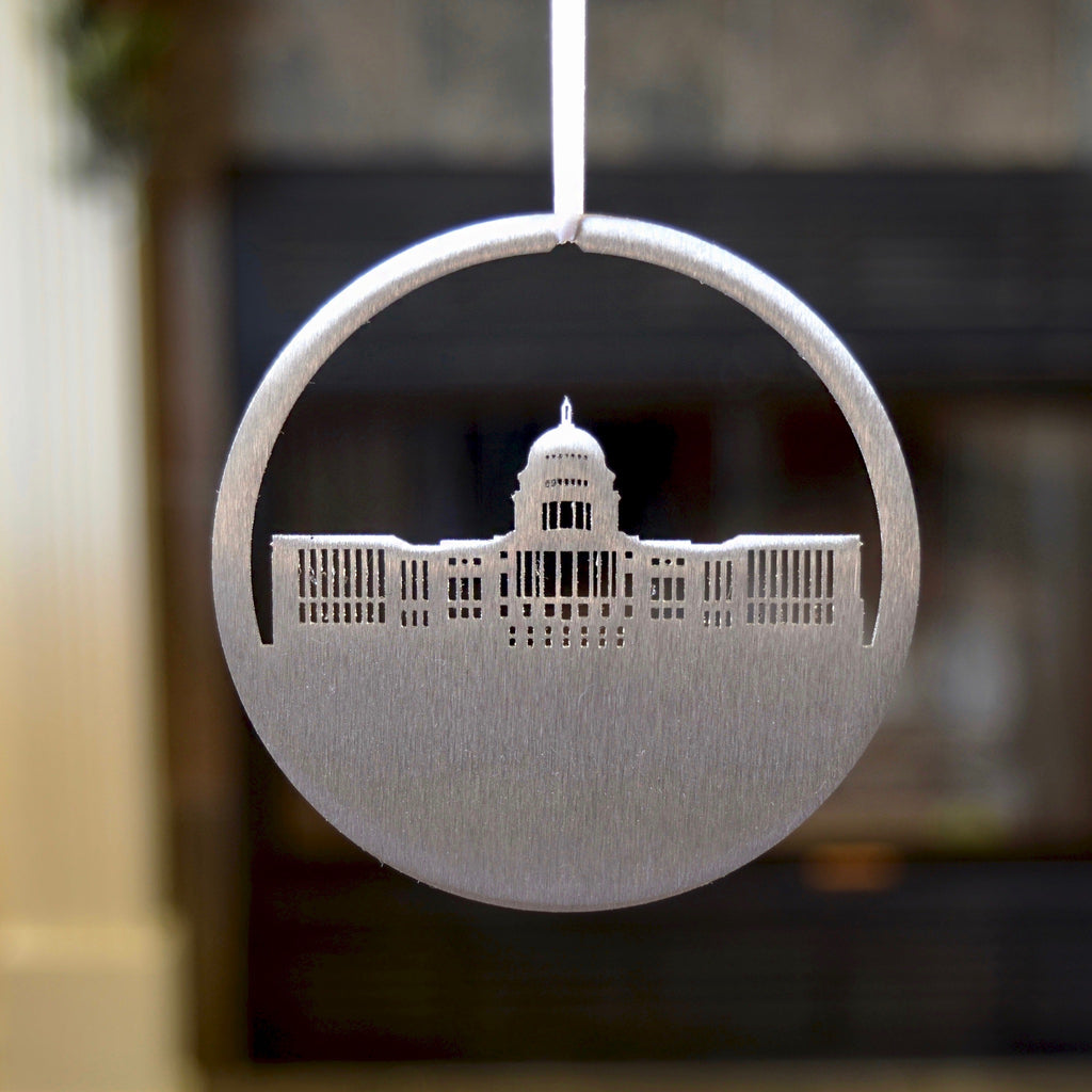 U.S. Capitol Steel Ornament