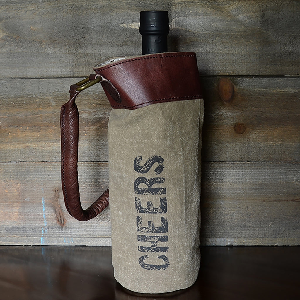 Cheers Wine Tote Bag