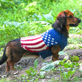 US Flag Dog Sweater