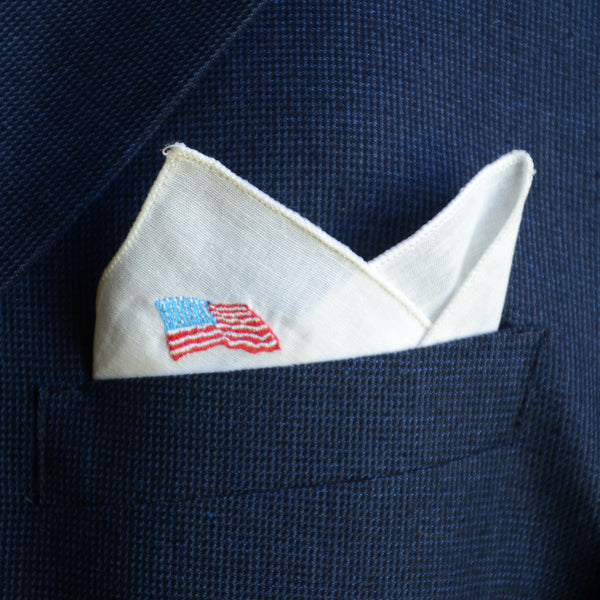 Pocket Square: Flag