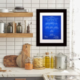 Framed Pasteur Beer Brewing Patent Print