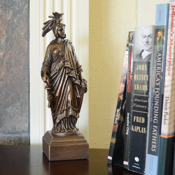 "Statue 9.5"" Statue of Freedom"