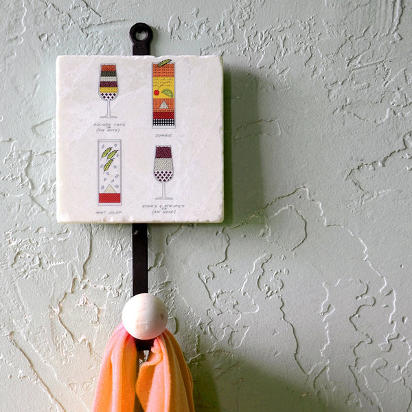 Cocktail Construction Coat Hook