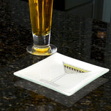 Cocktail Construction Grasshopper Plate