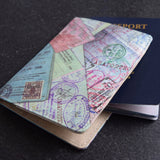 Stamps Passport Cover