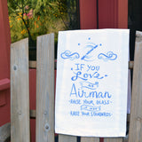 Airman Tea Towel